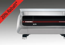 Faema E71 Rabattbanner